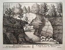 Wildnuss Schüss Biel Bienne Leberberg  Schweiz Kupferstich  Herrliberger 1758