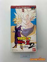 DRAGON BALL Z Super Butouden 2 Nintendo Super Famicom SNES SFC JAPAN Ref:314536