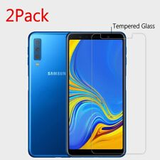 2x For Samsung Galaxy A7 (2018) Premium 9H Tempered Glass Screen Protector  2019