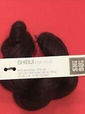 25g Skein - SHIBUI - SILK CLOUD - KID MOHAIR SILK - Brown Burgundy Yarn