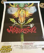 JABBERWOCKY Terry Gilliam French Movie Poster Original 1977 MONTY PYTHON