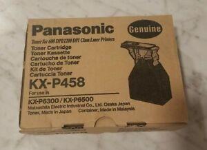 Genuine Panasonic KX-P458 Toner Cartridge KXP458 (1) Panasonic KX-P 6500