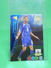 Panini #328 Pjanic Fan's Favorite Fifa World Cup Brasil 2014 Adrenalyn XL
