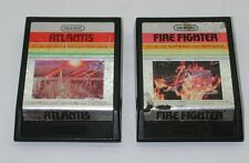Imagic Atlantis and Fire Fighter Games WORKING