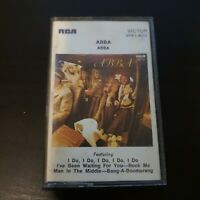 Abba Self Titled Cassette Music Vintage Classic