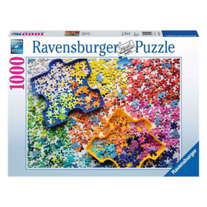 Ravensburger The Puzzlers Palette 1000 Piece Jigsaw Puzzle NEW