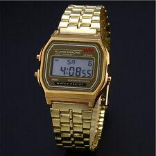 c27c46216379 Reloj de pulsera Hombres Mujeres Vintage clásico metal digital Acuatico  Water