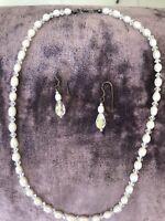 Wedding Jewellery Set - Fresh Water Pearls & Swarovski Crystals