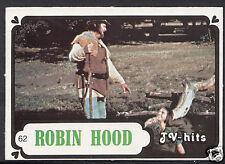 Monty Gum Card - 1986 TV Hits - Robin Hood - Card No 62