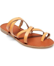 Women's Lina Slide Sandals | Mossimo Supply Co. | Size 8 | Tan