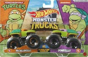 Hotwheels Monster Camions Michelangel V Donatello