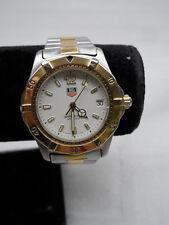 Tag Heuer WK1120 200m Men's Two Tone Wristwatch