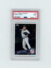 2011 Topps Chrome #20 DEREK JETER ▪️PSA 9 MINT GRADED! New York Yankees SEE