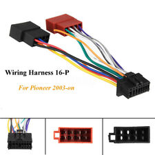 Car Stereo Radio ISO Wiring Harness Connector 16 Pin PI100 For Pioneer 2003-on