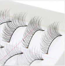 50 Pairs 5 Packs Makeup Handmade Soft Fashion Long False Eyelashes Eye Lashes