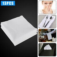 Handkerchiefs 100% Cotton Classic Hankies 13 PCS Hankerchief Hanky Pocket Gift