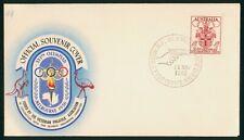 Mayfairstamps Australia 1956 Olympic Mobile Post Office Hand Gun Postmark Cover