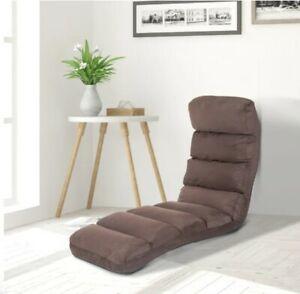 sofa bed folding HOMCOM floor adjustable lounger futon mattress chair