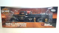 1/16 Highway 61 DCP HARLEY-DAVIDSON 1940 FORD FIRE TRUCK diecast car model MIB