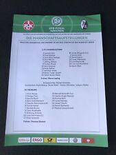 Aufstellung DFB Junioren Pokal Finale 2018 1. FC Kaiserslautern SC Freiburg