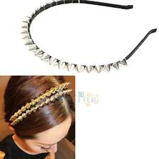 Charismatic Fashion Headband Spike Rivets Studded Band Party Punk Hair Band NEW