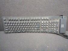 Wireless Waterproof Flexible Rollup Portable Folding Silicone Keyboard