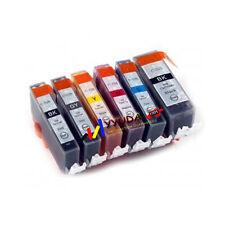 6x INK for CANON PGI525 CLI526 + GREY CLI526GY PIXMA MG6150 MG6250 MG8150 MG8250