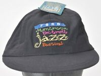 Ford Montreux Detroit Jazz Festival Cap Hat New with Tag Sewn Adult Adjustable