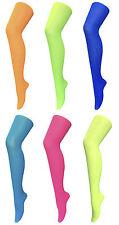 Sock Snob - Damen Gemusterte Neon Strumpfhose Karneval 40 DEN / 5 Farben / 36-42