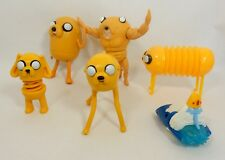 Cartoon Network's Adventure Time Figures Mixed Lot of 6 McDonald's Jake the Dog