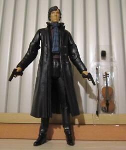 Underground Toys Sherlock Benedict Cumberbatch figure Doctor Who custom fodder