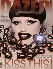 DAZED & CONFUSED May 2009 BETH DITTO Werner Herzog PEACHES & DRUMS OF DEATH excl