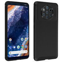Nokia 9 PureView Soft Protection Case Carbon Effect Matt Black