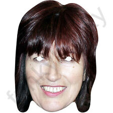 Janet Street Porter - Celebrity TV Personality Card Mask - All Our Masks Are Pre