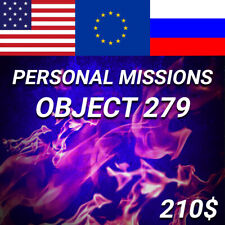 World of Tanks | Personal Missions - Object 279 (Second Front) | NOT BONUS CODE