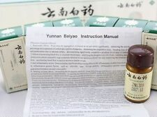 Yunnan Baiyao Powder 6 x 4g Bottles First aid Stop Bleeding/Bruise云南白药粉剂 By EUB