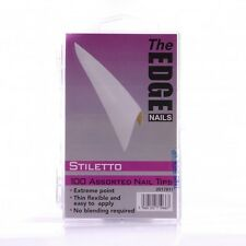 The Edge range of Nail Tips x100 ( Natural, White & Clear)