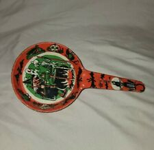 Vintage Antique Halloween Noise Maker Tin Litho Clapper (Works Great)