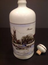 Island of Barbados Porcelain Whiskey Decanter 350 Anniversary 1989 Never Used