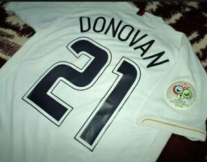 Jersey US Landon Donovan nike USA (L) USMNT vintage 2006 WC06 soccer shirt rare
