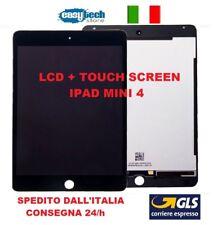 LCD DISPLAY TOUCH SCREEN Completo iPad MINI 4 A1538 A1550  SCHERMO NERO