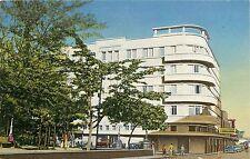 Linen Postcard; Edificio Dueñas, San Salvador, El Salvador C.A. Unposted