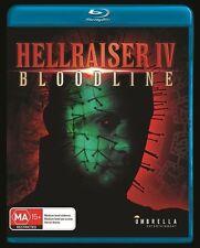 USED (VG) Hellraiser IV Bloodline - Blu-Ray (Region A, B, C) (Hellraiser 4) (Blu