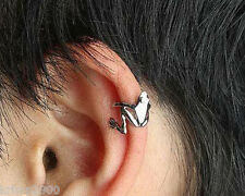 Cute  FROG  Design ear cuff  (slip on and wear No piercing required)