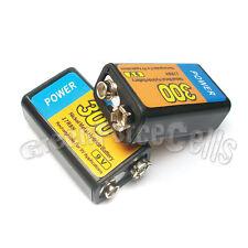 4 pcs 9V 300mAh 17R8H Ni-MH Rechargeable Battery PP3