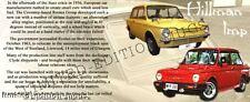HILLMAN IMP CLASSIC CAR MUG.LIMITED EDITION DESIGN