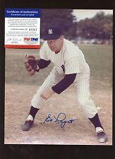 Ed Lopat New York Yankees Autographed 8 X 10 Photo PSA/DNA