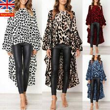 Leopard Long Sleeve Blouses for Women