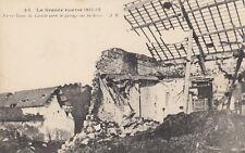 GUERRE 14-18 WW1 PAS-DE-CALAIS NOTRE-DAME DE LORETTE 43 après passage barbares