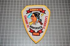 Wanskuck Rhode Island Eng. 12 Ladd. 3  Admiral Street Patch (B17-X)